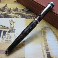 Foreign Trade Wholesale Pen Acrylic Case Coffee Fountain Pen High Quality Ink Pen Fl1096612