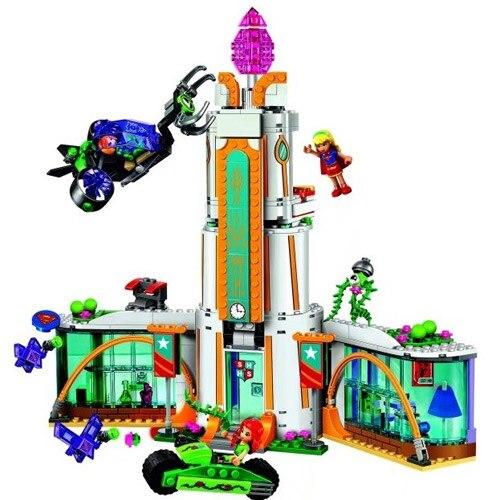 10618 Бела DC Super Hero Школе Девочка Ядовитый плющ мини-кукла Building Block кирпичи игрушки Совместимость с Legoings чудо женщина 41232