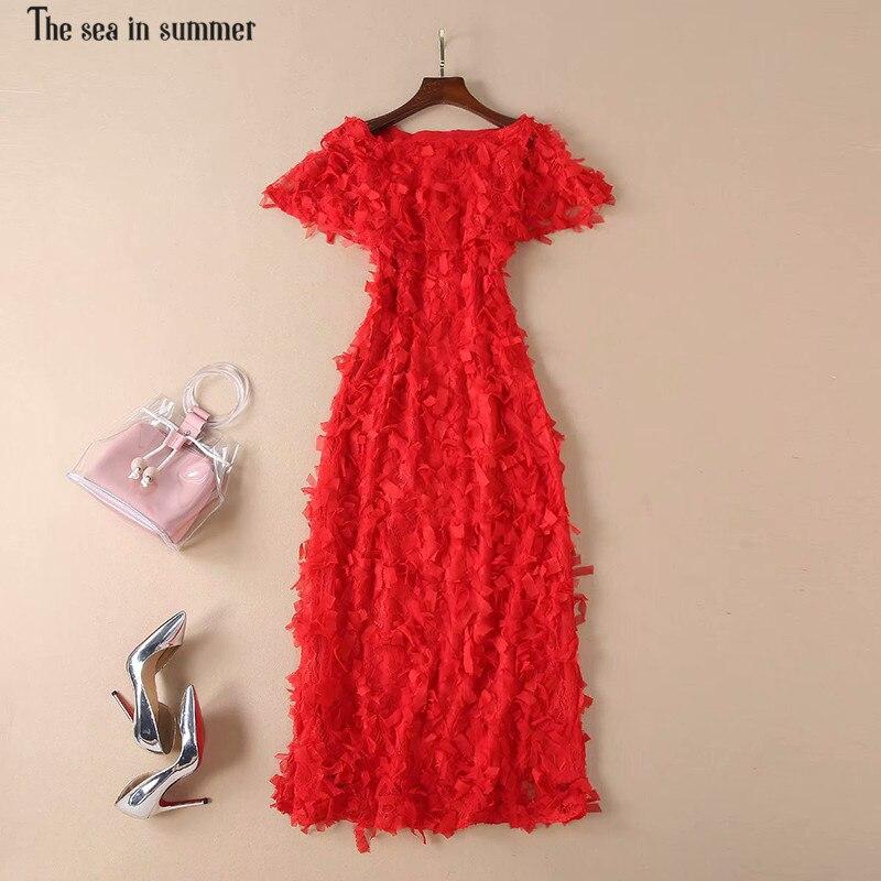 2d0fd8fc8ce La-mer-en-t-Designer-Robe-Femmes-Robe -de-Haute-Qualit-femmes-Manteau-Manches-Rouge-Appliques.jpg