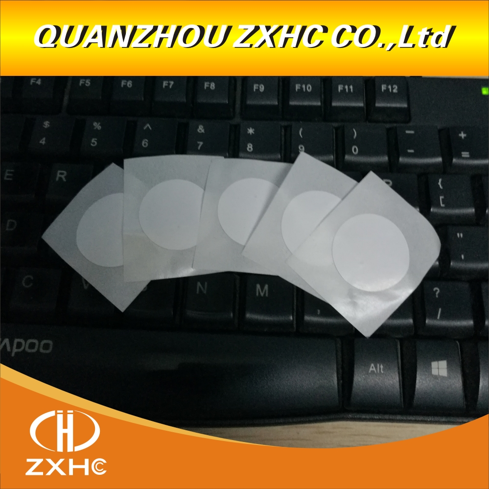 (100PCS) Nice Quality NFC Ntag215 Tag Coated Paper Sticker Forum Type2