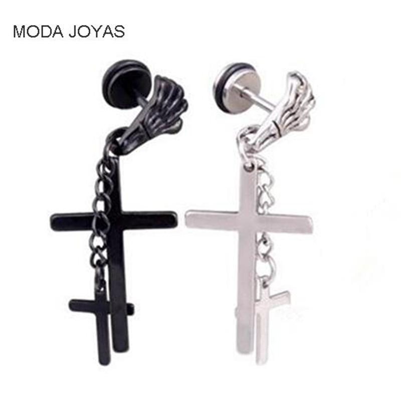 1pcs KPOP BTS Bangtan Boys Album Cross Earrings Korea Fashion Jewelry Accessories For Men Women Boy Girl Stud Earrings
