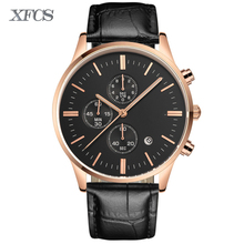 XFCS 2017 waterproof automatic watch for man quartz wristwatch mens top famous brand watches topmerk tag