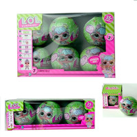 3pcs 6pcs Set LOL Series 2 Surprise Doll Action Figure Color Change Eggs Dress Up Toys