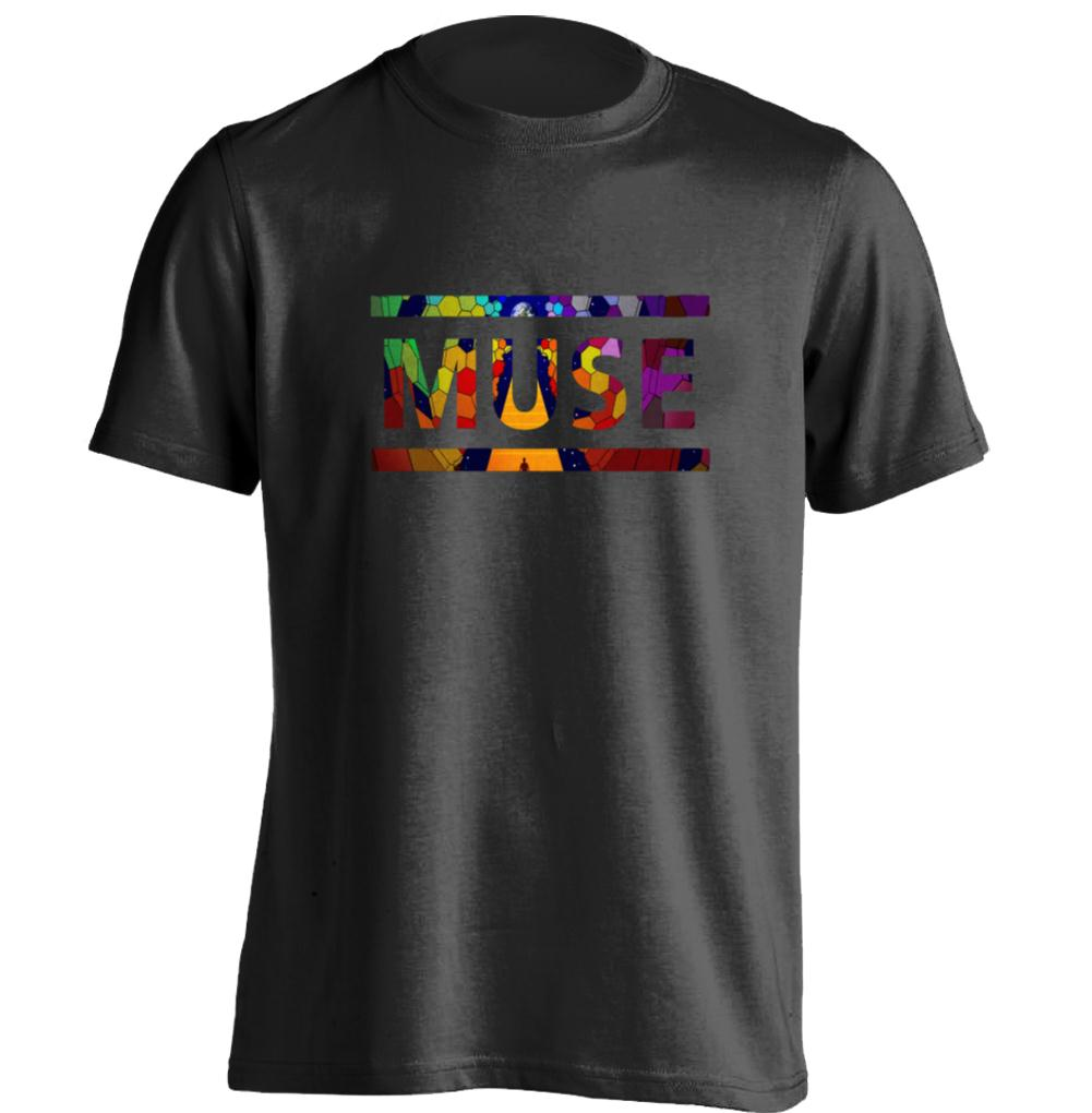 Space rock band muse mens womens personalized t shirt for Cheap custom t shirts for one