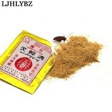 Ljhlybz 100 pcseffective уничтожение тараканов порошкообразная приманка отпугиватель тараканов убийца противопаразитный тараканами средство порошок вредителей Управление продукты