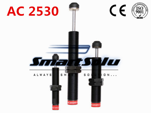 free shipping 1pcs AC2530 M25x1.5 Pneumatic Hydraulic Shock Absorber Damper 30mm stroke free shipping 1pcs m42x1 5 pneumatic hydraulic shock absorber damper 25mm stroke ad 4225