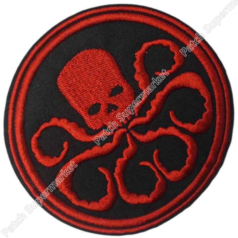 Marvel Comics Captain Hydra TV MOVIE Costume Embroidered Emblem applique iron on patch