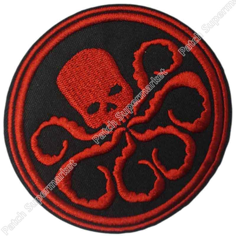 Marvel Comics Captain Hydra TV MOVIE Kostuum Geborduurde Emblem applique ijzer op patch-in Lappen van Huis & Tuin op  Groep 1