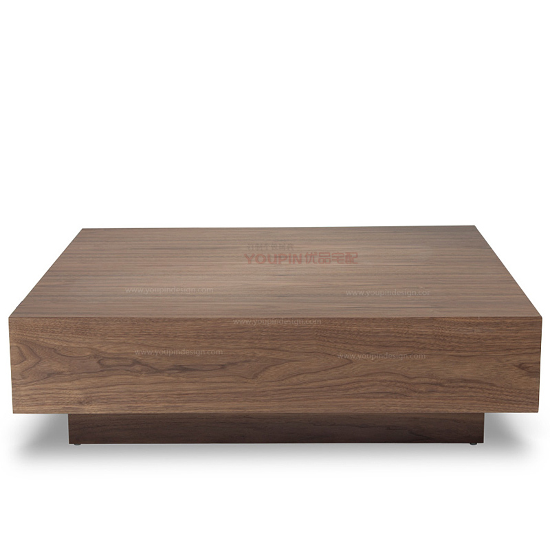 Direct High Thick Veneer Face Creative Coffee Table Square Table  Scandinavian Minimalist Modern Style Designer Furniture In Coffee Tables  From Furniture On ...