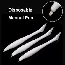 1pcs Manual Microblading Pen Tool Disposable with blades Permanent Makeup 3D Eyebrow Lip Hand Tools Tattoo