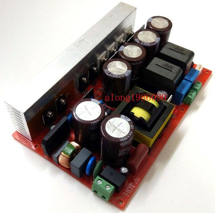GZLOZONE GZLOZONE haute puissance IRS2092S carte d'ampli stéréo classe D avec L14-9 de combinaison d'alimentation