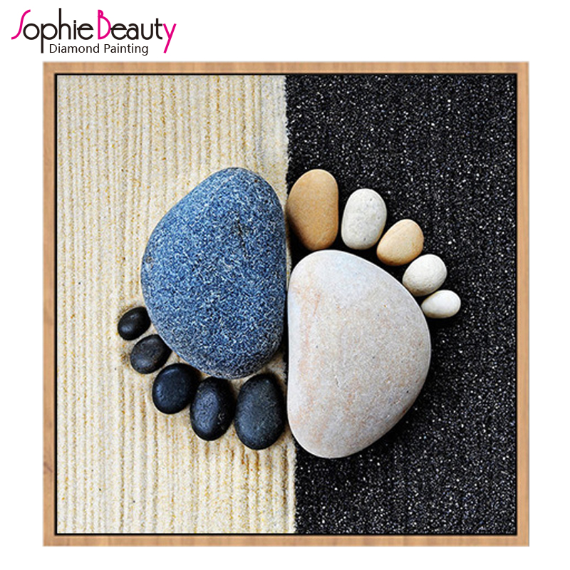 Sophie Beauty New Diy Round Square Diamond Painting Cross Stitch Beaded Embroidery Handcraft Mosaic Pebble Stone Food Home Arts zwbra shower curtain