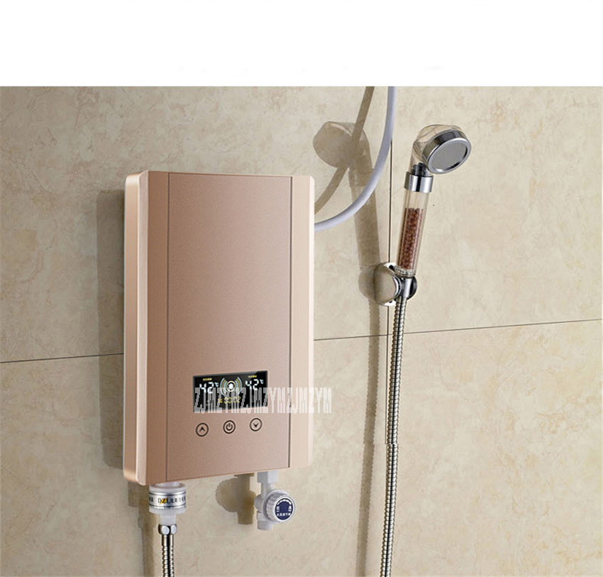 Ysh 60s Instant Electric Water Heater Shower Bath Shower