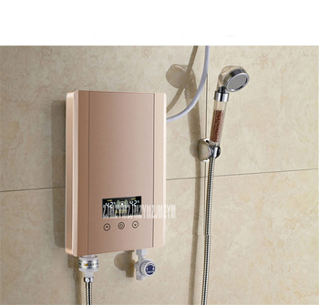 YSH-60S Instant Electric Water Heater Shower Bath Shower Thermostat Small Wall Mount 220V/50hz 30-52 degrees Celsius 0.05-0.6MPa