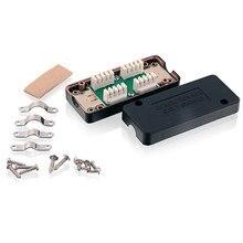 Linkwylan сетевой CAT7 600 МГц Ethernet LAN кабель распределительная коробка LSA Соединительный адаптер RJ45 Удлинительный адаптер