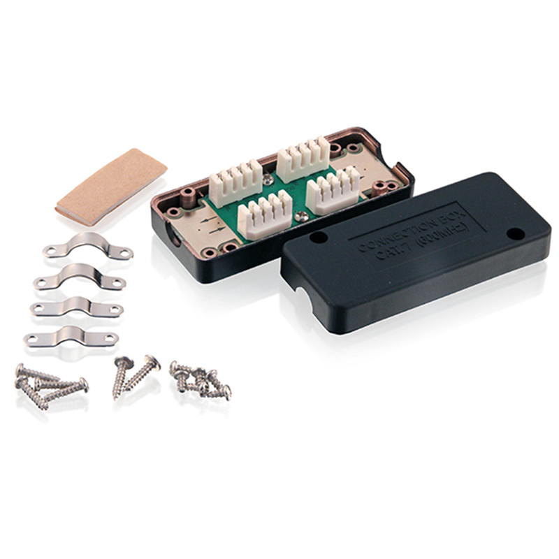 CAT7 600MHz Junction Box / LSA to LSA Connection Box / RJ45 Extention BoxCAT7 600MHz Junction Box / LSA to LSA Connection Box / RJ45 Extention Box