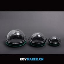ROVMAKER – couvercle de dôme acrylique, photographie sous marine, couvercle de cardan, Capsule sphérique, diamètre extérieur 90/110/130/160mm pour Robot ROV