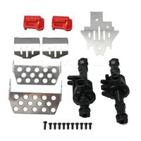 Mxfans RC Car Upgrade Parts Protection Skid Plate Axle Housing for Traxxas TRX4 TRX 4 RC 1/10 Model Car