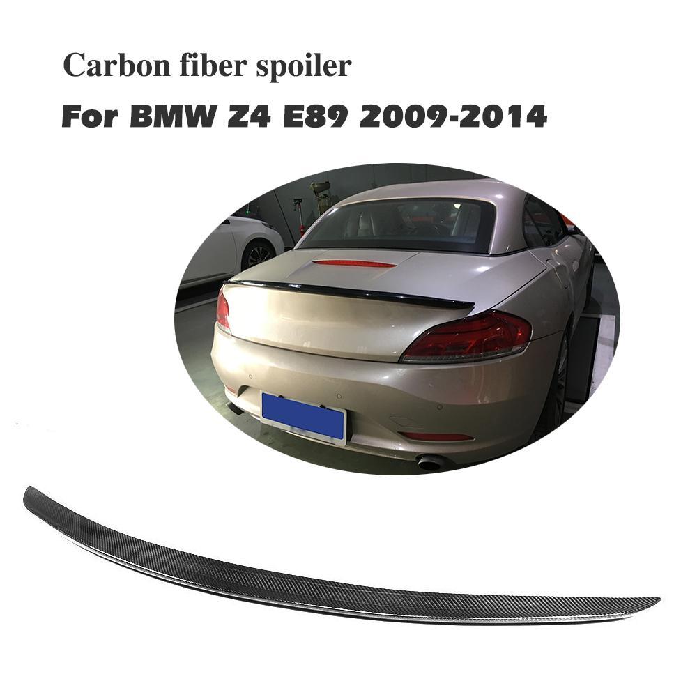 Задний спойлер для BMW Z4 E89 18i 20i 28i 30i 35i 2009 2015 углеродное волокно заднее крыло высококачественный спойлер из углеволокна