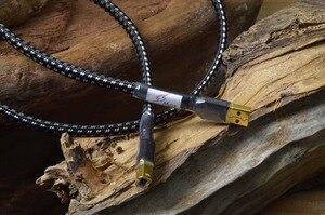 Image 4 - HiFi MPS HD 770 HiFi 99.9997% OCC 24 K 10u Gold Überzogene Stecker USB2.0 3,0 stecker audio kabel DAC PC Audio daten kabel