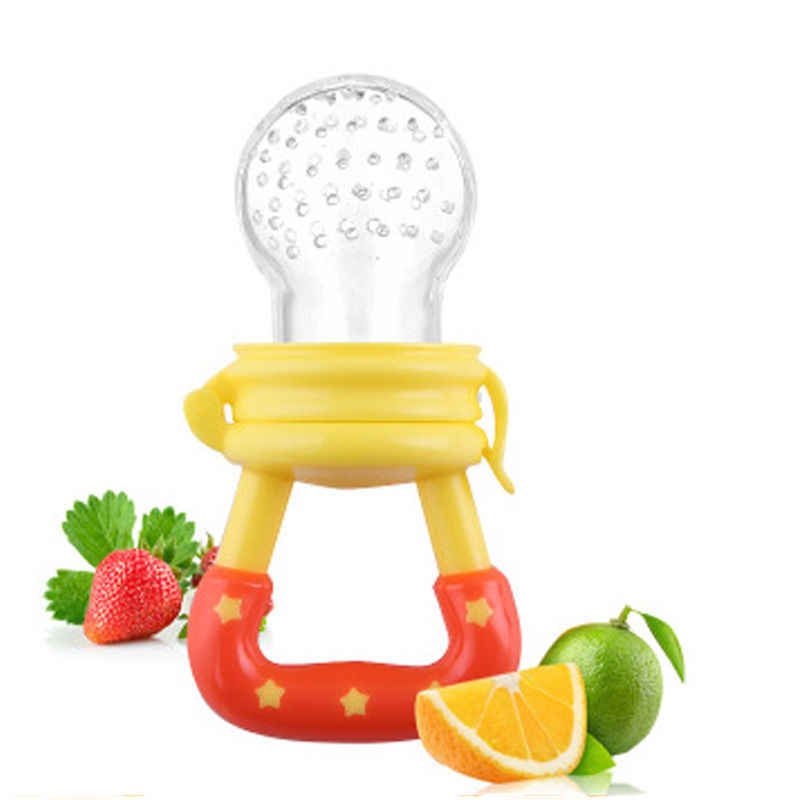 Bebé recién nacido niño lindo bebés encantadores alimentación chupete bebé fruta fresca alimentador de sopa maniquí chupete destete pezón Mulit
