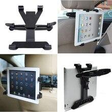 360 grados de rotación universal asiento trasero del coche reposacabezas titular de montaje para ipad 2/3/4 tabletas samsung tablet envío gratis