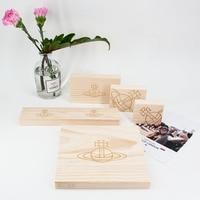lot of 5 Creative Wood Jewelry Display Block Earrings, Bracelets, Necklace, Pendant Display Wood Holder Jewellery Blocks