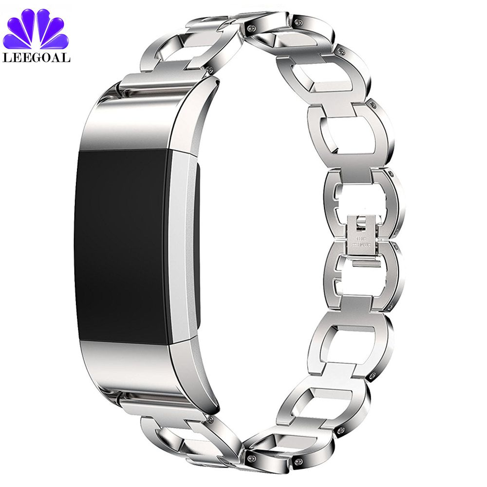Fitbit Charge 2 Band Stainless Steel Smart Watch Strap For Fitbit Charge 2 Watch Bracelet Replacement Stainless Steel