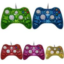 Проводной ПК USB контроллер геймпад джойстик для xbox360 игровой контроллер светодио дный свет для Xbox 360