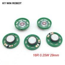 5pcs/lot New Ultra-thin Mini speaker 16 ohms 0.25 watt 0.25W 16R Diameter 29MM 2.9CM thickness 9MM
