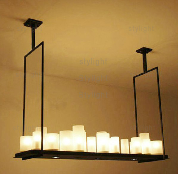 Kevin Reilly Altar Modern Pendant Lamp LED Candle Chandelier Kevin Reilly Light  Metal Light Fixture Candle