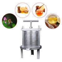 Cast Iron Mesh Hit Beeswax Machine Practical Mini Honey Pressure Machine Beekeeping Equipment With Iron Shelves Beekeeping Tool