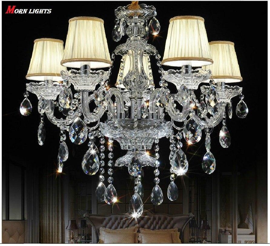 цена на Luxury Chandelier Crystal fashion K9 Top crystal lamp lighting modern crystal Lights Include Lampshade Room chandelier lighting