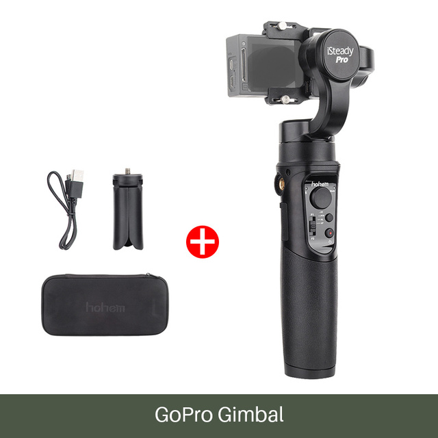 Hohem iSteady Pro 3-axis gimbal for SJCAM / GoPro 8/7/6/5/4