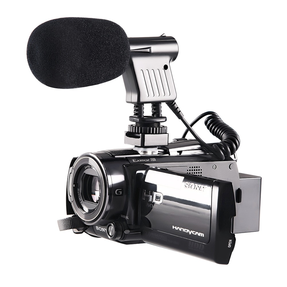 Original BOYA BY-VM01 Directional Condenser Microphone Video Broadcast For Nikon Canon Sony Penta Gopro Cameras High Quality 4