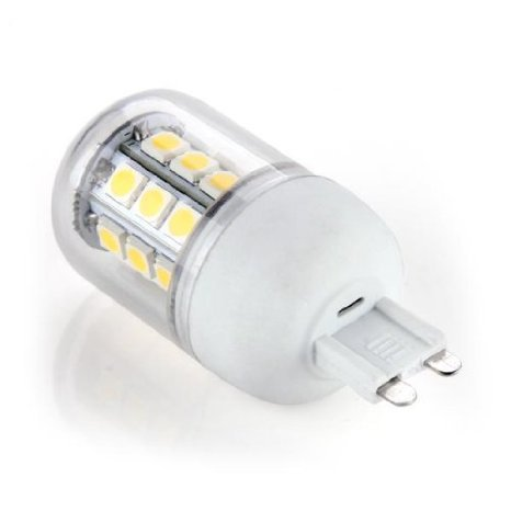 Купить с кэшбэком G9 5050 SMD 27 LEDs  Ampoule Lampe Spot Blanc Chaud 5W 220v free shipping corn led corn light lamp led G9
