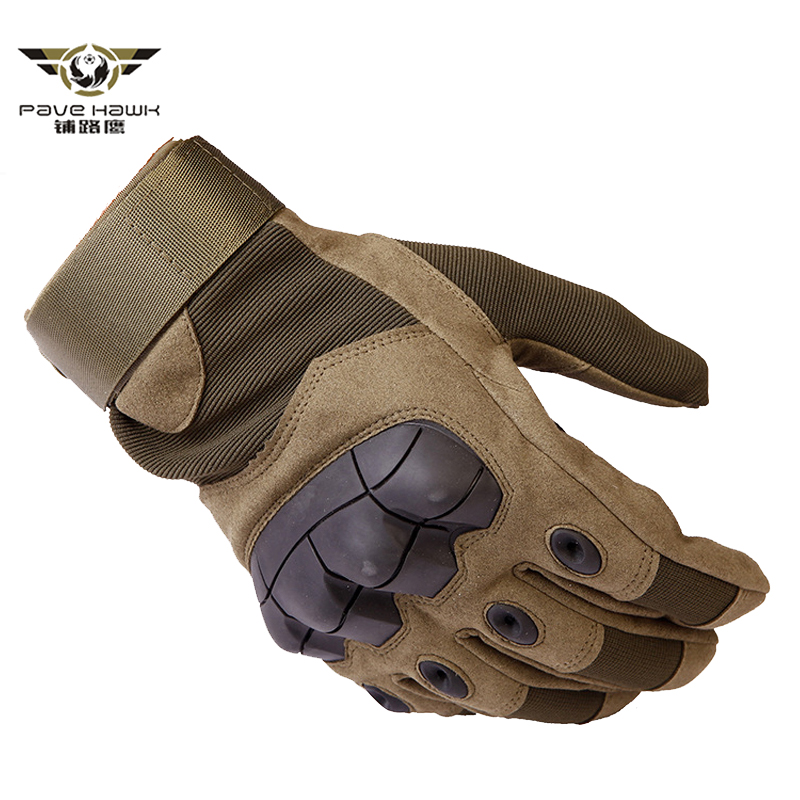 Tactical Gloves Military Army Combat Finger Airsoft Shooting Paintball Bicycle Gear Hard Carbon Knuckle Full Finger Gloves(China)