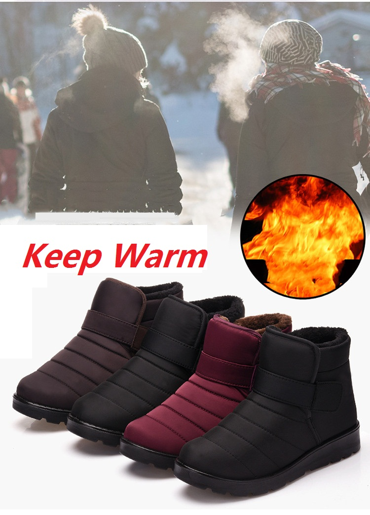 HTB1oV1uXzDuK1Rjy1zjq6zraFXaE - Hot Sale New Fashion Men Boots Waterproof Ankle Snow Boots Winter Work Shoes Keep Warm Fur Men Footwear Outdoor Plush Shoes