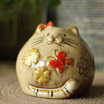 American country Home Furnishing Wedding Decor furnishings ceramic ornaments lovely Ceramic Piggy chinchilla
