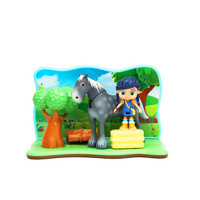 Wissper Peggy Pony Herbert Grass World Creative Decoration Anime PVC Action Figure Collection Model Toy G2142