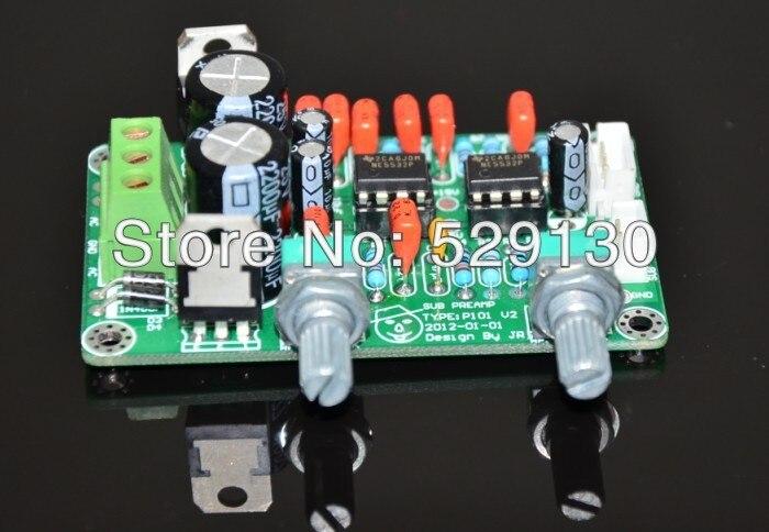 diy kit preamp board 5532 low pass filter board dedicated