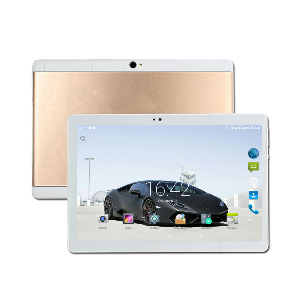 Android 7.0 3G GPS tablet pc 10.1 inch 1280X800 HD IPS Screen Octa core 4GB RAM 32/64GB ROM Wifi bluetooth tablet 10 2018 new 10 1inch tablet pc android 7 0 4 gb ram 32gb rom cortex a7 octa core camera 5 0mp wi fi ips telefoon tabletten pc