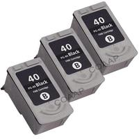 3x Black Ink Cartridge PG 40 PG 40 PG40 For Canon PIXMA Canon Pixma MP 150