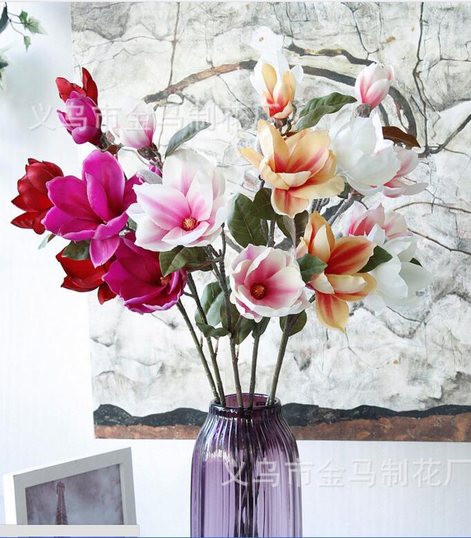 Магнолия цветы искусственные