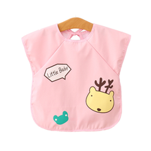 Baby Bibs Waterproof Elk Boy Girl Bib Saliva Towel Infant Toddler Bandana Burp Cloth Feeding Apron