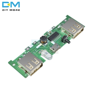 5V 1A 2A Mobile Power Bank Charger Control Module Micro USB Polymer Lithium Battery Charging Board DIY Step Up Boost(China)
