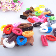 100/200/400Pcs Colorful Hair Accessories Elastic Rubber Band Headdress Tie Gum Ponytail Holder Ornaments for Girls