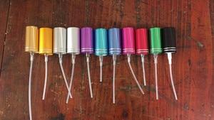 Image 1 - YP 1 50Pcs 11 colors / aluminum foil nozzle / 13 screw / perfume bottle spray tool