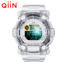 QS688 2016 Men Digital Watch Men Sports Watches Relogio  S Shock Relojes LED Military Waterproof Wristwatches