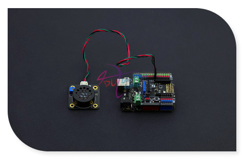 DFRobot 100 Genuine 40mm diameter 0 5W 8 ohm Small mini speaker for voice playback speech